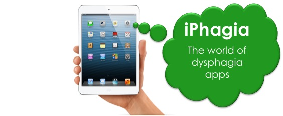 iPads + Dysphagia Therapy = iPhagia Therapy